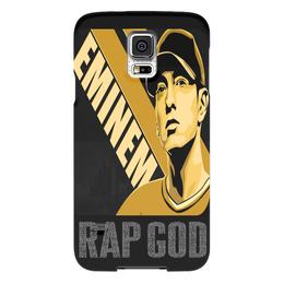 "Чехол для Samsung Galaxy S5 ""Eminem"" - usa, rap god, 8 миля, lose yourself, фристайл"