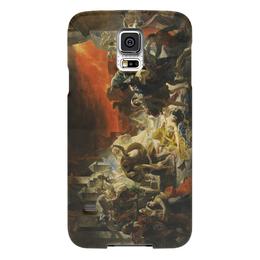 """Чехол для Samsung Galaxy S5 """"Последний день Помпеи (картина Брюллова)"""" - картина, брюллов"""