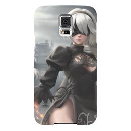 "Чехол для Samsung Galaxy S5 ""2B Nier Automata"" - девушка, sexy, nier, 2b"