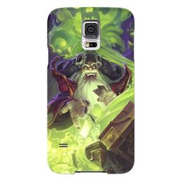 "Чехол для Samsung Galaxy S5 ""Магия"" - монстр, дым, старик, колдун, маг"