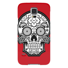 "Чехол для Samsung Galaxy S5 ""Santa Muerte skull"" - skull, череп, мексика, mexico, санта муерте"