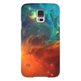 """Чехол для Samsung Galaxy S5 """"Космическая туманность"""" - космос, фотография, звёзды, спутник, туманность"""