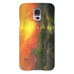 "Чехол для Samsung Galaxy S5 ""Девятый вал (картина Айвазовского)"" - картина, айвазовский"