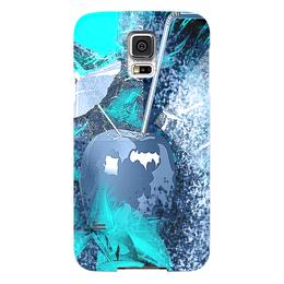 """Чехол для Samsung Galaxy S5 """"Яблочный микс"""" - фрукты, напиток, абстракция, яблоко, натюрморт"""