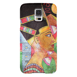 "Чехол для Samsung Galaxy S5 ""Нефертити "" - рисунок, египет, нефертити"