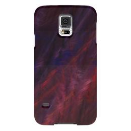 """Чехол для Samsung Galaxy S5 """"Абстрактный дизайн"""" - графика, абстракция, линии, авангард, лучи"""