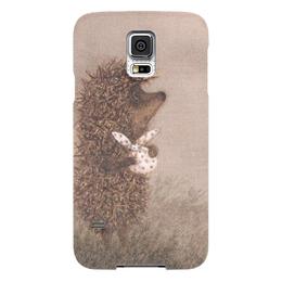 """Чехол для Samsung Galaxy S5 """"Ежик в тумане"""" - ежик, еж, совестские мульты"""