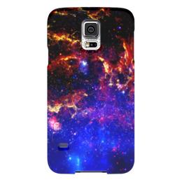 """Чехол для Samsung Galaxy S5 """"Великий Космос"""" - космос, наука, прогресс, денис гесс, the spaceway"""