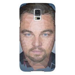 "Чехол для Samsung Galaxy S5 ""Leonardo DiCaprio"" - леонардо, лео, дикаприо, полигон"