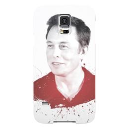 """Чехол для Samsung Galaxy S5 """"Илон Маск"""" - космос, маск, spacex, вселенная, thespaceway"""