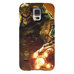 "Чехол для Samsung Galaxy S5 ""Doom 4"" - doom, шутер, дум, cyberdemon, кибер демон"