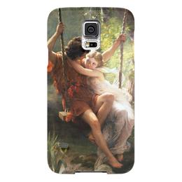 """Чехол для Samsung Galaxy S5 """"Весна (Пьер Огюст Кот)"""" - кот, картина"""