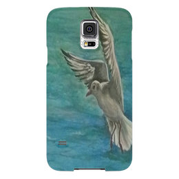 "Чехол для Samsung Galaxy S5 ""Чайка"" - море, свобода, чайка"