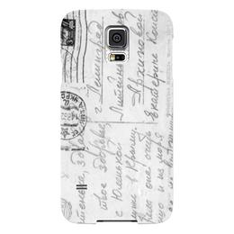 "Чехол для Samsung Galaxy S5 ""Ретро письмо"" - ретро, письмо, крым"