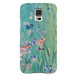"""Чехол для Samsung Galaxy S5 """"Весна"""" - любовь, весна, счастье, цветочки, полянка"""