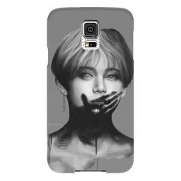 "Чехол для Samsung Galaxy S5 ""Monster?"" - korea, корея, kpop, bts"