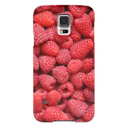 "Чехол для Samsung Galaxy S5 ""Малина"" - ягоды, малина, raspberry"