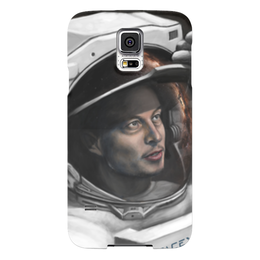 "Чехол для Samsung Galaxy S5 ""SpaceX"" - космос, маск, spacex, вселенная, thespaceway"