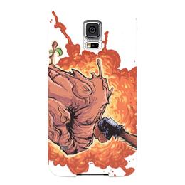 """Чехол для Samsung Galaxy S5 """"Стражи Галактики"""" - комиксы, марвел, ракета, грут, guardians of the galaxy"""