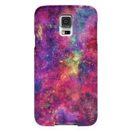 """Чехол для Samsung Galaxy S5 """"Космос"""" - космос, вселенная, pink space, космический дизайн, space design"""