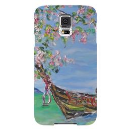 """Чехол для Samsung Galaxy S5 """"Тайланд"""" - море, красота, лодка, релакс, тайланд"""