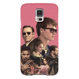 """Чехол для Samsung Galaxy S5 """"Baby Driver"""" - музыка, девушки, знаменитости, оружие, малыш на драйве"""
