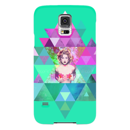 "Чехол для Samsung Galaxy S5 """"HIPSTA SWAG"" collection: Madonna"" - swag, madonna, мадонна, свэг, геомерия"