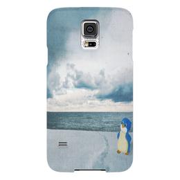 """Чехол для Samsung Galaxy S5 """"Пингвинёнок Лоло"""" - арт, ссср, рисунок, подарок, лоло"""