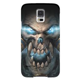 "Чехол для Samsung Galaxy S5 ""WarCraft Collection"" - wow, warcraft, world of warcraft, варкрафт, нежить"
