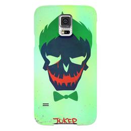 "Чехол для Samsung Galaxy S5 ""Джокер"" - jared leto, joker, комиксы, отряд самоубийц, suicide squad"