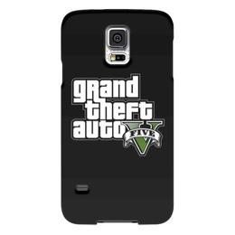 """Чехол для Samsung Galaxy S5 """"GTA 5"""" - gta, геймер, геймеру, гта, про игры"""
