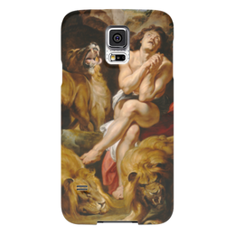 "Чехол для Samsung Galaxy S5 ""Даниил в яме со львами (картина Рубенса)"" - картина, библия, рубенс"