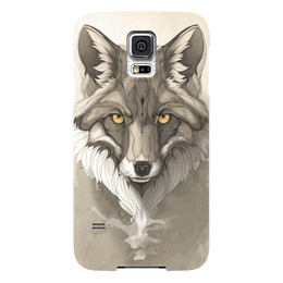 """Чехол для Samsung Galaxy S5 """"Лиса """" - арт, fox, лиса"""