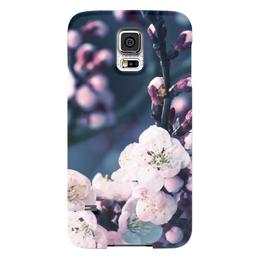 """Чехол для Samsung Galaxy S5 """"цветы"""" - n-a-v"""