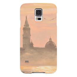 """Чехол для Samsung Galaxy S5 """"Венеция"""" - венеция, venice, валерия меценатова"""