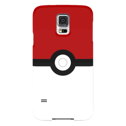"Чехол для Samsung Galaxy S5 ""Pokeball"" - нинтендо, nintendo, pokemon go, покемон го, покеболл"