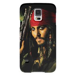 "Чехол для Samsung Galaxy S5 ""Капитан Джек Воробей."" - джонни депп, пират, капитан, джек воробей, пираты карибского моря"