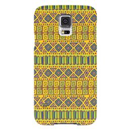 """Чехол для Samsung Galaxy S5 """"Стиль Бохо"""" - узоры, орнамент, бохо"""