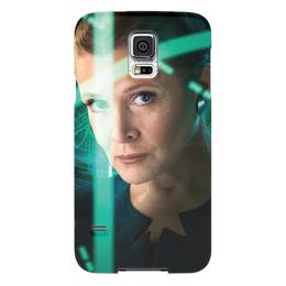 "Чехол для Samsung Galaxy S5 ""Звездные войны - Лея"" - звездные войны, фантастика, кино, дарт вейдер, star wars"