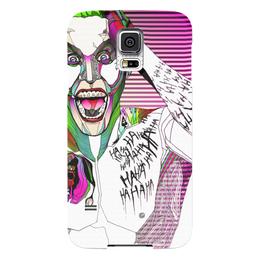 "Чехол для Samsung Galaxy S5 ""Джокер"" - jared leto, joker, джокер, отряд самоубийц, suicide squad"