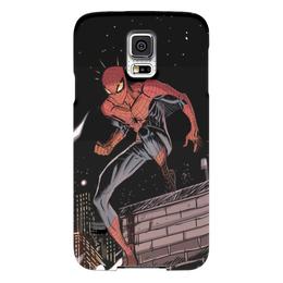 "Чехол для Samsung Galaxy S5 ""Человек-паук (Spider-man)"" - комиксы, spider-man, марвел, человек-паук, питер паркер"