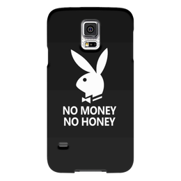 "Чехол для Samsung Galaxy S5 ""No money, no honey"" - юмор, playboy, кролик, no money, no honey"