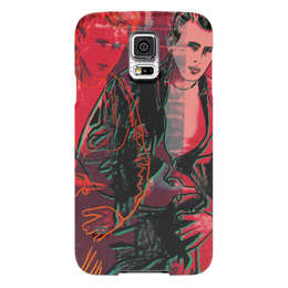 "Чехол для Samsung Galaxy S5 ""Джеймс Дин James Dean"" - джеймс дин, james dean, rebel without a cause, стиль, кино"
