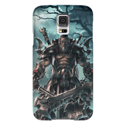 "Чехол для Samsung Galaxy S5 ""Barbarian"" - blizzard, diablo, диабло, близзард, варвар"