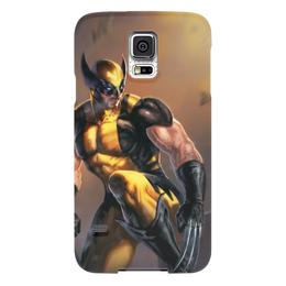 "Чехол для Samsung Galaxy S5 ""Росомаха"" - комиксы, росомаха, марвел, wolverine, логан"