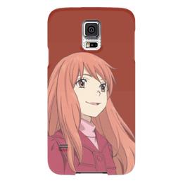 """Чехол для Samsung Galaxy S5 """"Саки Морими"""" - аниме, персонаж аниме, к востоку от рая, саки морими"""