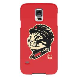 """Чехол для Samsung Galaxy S5 """"Chairman Meow"""" - meow, котэ, мао, мяу, mao"""