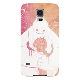 "Чехол для Samsung Galaxy S5 ""Беймакс"" - мультик, город героев, baymax, big heroe 6"