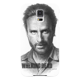 "Чехол для Samsung Galaxy S5 ""The Walking Dead Rick Grimes Andrew Lincoln"" - thewalkingdead, rickgrimes, andrewlincoln"
