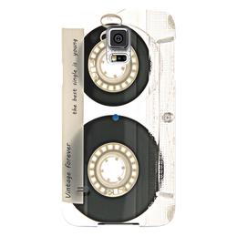 """Чехол для Samsung Galaxy S5 """"Кассета винтаж"""" - музыка, плеер, ретро, касета"""